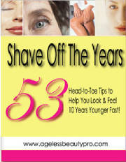53 Tips to Shave Off The Years FREE ebook